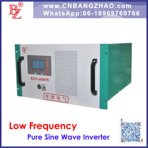 Tower-Type Power Frequency off Grid Inverter with 6000W 120/240V AC Output pictures & photos