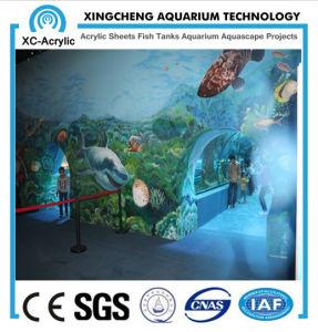 Customized Large Transparent UV PMMA Tunnel Oceanarium pictures & photos