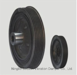 Torsional Vibration Damper / Crankshaft Pulley for Ford 1100051 pictures & photos