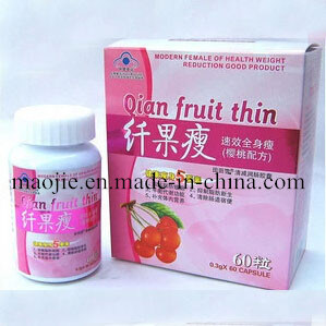 No Side Effect Qian Fruit Thin Weight Loss Slimming Capusle (MJ-QGS98) pictures & photos