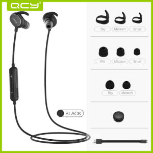 Good Quality Qy19 Mini Wireless Bluetooth Headphone in Black pictures & photos