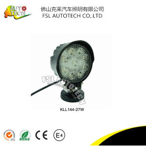 27W Auto Part Spot LED Work Driving Light for Auto Vehicels pictures & photos
