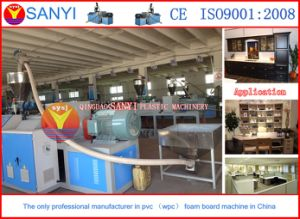 Plastic Machine-WPC Cabinet Foam Board Production Line pictures & photos