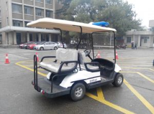 Popular Dongfeng 4 Seater Golf Cart with Curtis Controller Hot Sale pictures & photos