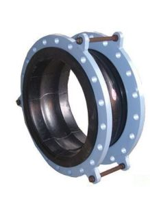 Twin Sphere Rubber Expansion Joint with Pn16 Flanges pictures & photos