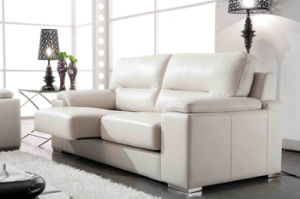 Adjustable Seat Leather Sofa (660) pictures & photos