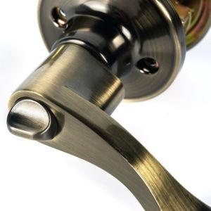 Bronze Zinc Alloy Tubular Lever Lock Door Handle Lock pictures & photos