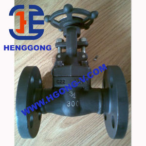 DIN/API Forged Steel Industrial Flange Gate Valve