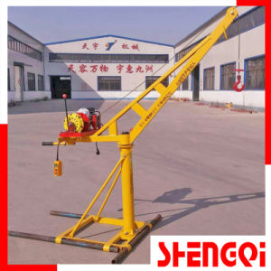 Best Price and Good Quality Construction Mini Crane 200kg 300kg 400kg 500kg pictures & photos