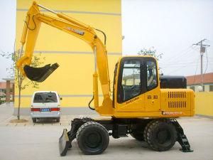Jhl85 Wheel Excavator