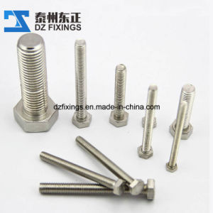 Stainless Steel 304 Hex Bolt (DIN933) pictures & photos