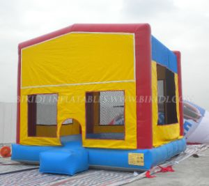 Inflatable Bouncers, Moon Castle with Magic Tape Art Panels, Hot in U. S. a (B2030) pictures & photos