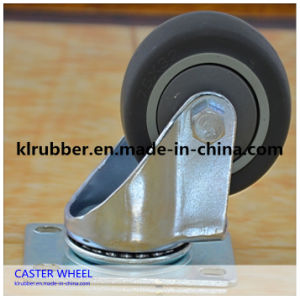 Small Swivel Rubber Wheel Caster for Carts pictures & photos