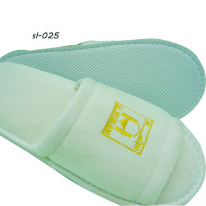Hotel Amenities Slippers 7 Hotel Terry Towel Slipper Factory pictures & photos