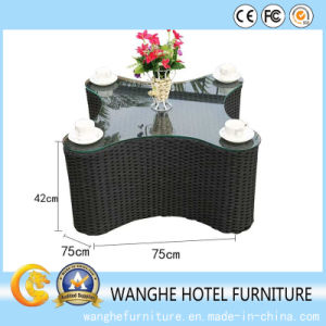 Hotel Furniture-PE Rattan Combined Furniture Sofa Set pictures & photos