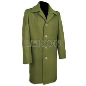 Military Official Overcoat Wool with ISO Standard pictures & photos