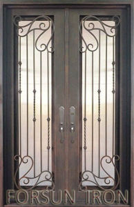 Wrought Iron Doors Elegant Design Iron Doors pictures & photos