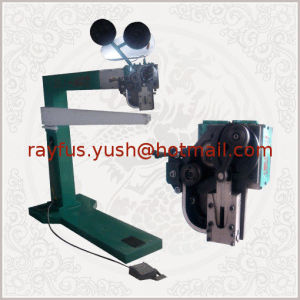 Semi-Auto Stitcher of Corrugated Carton Box Making Machine pictures & photos