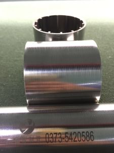 Stainless Steel 316L 50micron Slot Wedge Wire Screen with Pure Roundness pictures & photos
