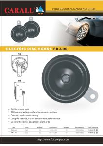 Electric Disc Horn, Water Proof Speaker pictures & photos