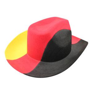100% Wool Felt Mens Brim Cowboy Hats (GKM15-Q0022) pictures & photos