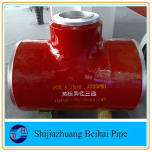 A234 Wp11 Alloy Steel Sch40 Seamless Straight Tee ANSI B16.9 pictures & photos