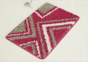 Comfortable PP Rugs, with Elbow Yarns, Diamond Pattern pictures & photos