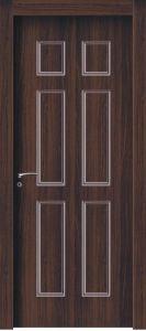 Modern Design WPC Door Wood Plastic Door