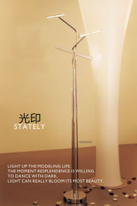 Chrome Good Quality Indoor LED Floor Standing Lamps pictures & photos