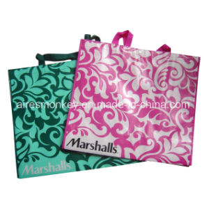 Reusable Supermarket Promotional Shopping Laminated Non Woven Bags pictures & photos