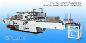 1-6 Colors Lid Printing Machine pictures & photos