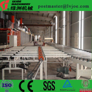 Gypsum or Wall Board Making and Manufacturing Process pictures & photos