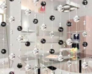 Concise Glass Bead Curtain
