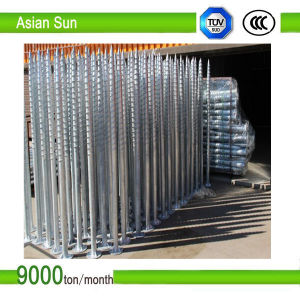 Ground Screw Pile for Solar Panel Mounting System pictures & photos