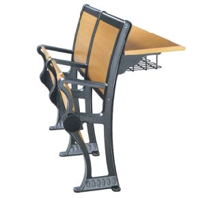 Popular Student Desk and Chair with Armrest (YA-010) pictures & photos