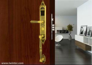 Fined Copper Digitalrf Card Hotel Lock, Luxury Key Card Hotel Lock pictures & photos