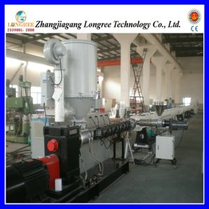 New Plastic PPR Water Supply Pipe Extrusion Line with Dia. 16-160mm pictures & photos