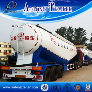 45cbm V Type Bulk Cement Semi Trailer for Export pictures & photos