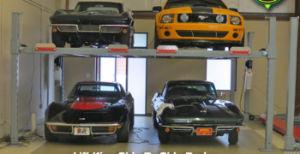 Four Post Auto Parking Lift