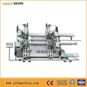PVC Win-Door Vertical CNC 4-Corner Profile Machine pictures & photos