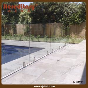 Glass Handrail Swimming Pool Handrail and Frameless Glass Railing (SJ-S1014) pictures & photos