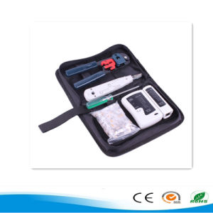 RJ45 Network Tool Kit Including Network Cable Tester Crystal Heads and Punch Down Tool PC Repair Hand Tool Set pictures & photos