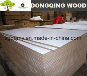Fashion Color White Laminated Melamine MDF Board with 8mm 12mm 16mm