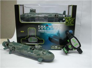 R/C Toy Submarine (Seawolf)