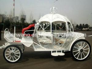 Electric Pumpkin Horse Carriage Horse Cart (GW-HC06) pictures & photos