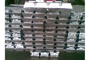 1000 Series Grade Alloy Aluminum Ingot 99.7% pictures & photos
