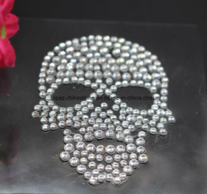 2016 New Design Acrylic Rhinestone Scrapbooking Stickers Rhinestone Skull Stickers (TS-538) pictures & photos