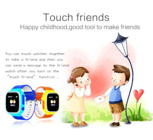 Kids GPS Watch with Colorful Touch Screen (D15) pictures & photos