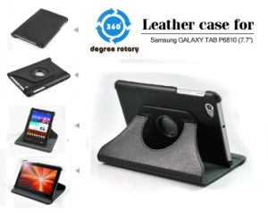 Rotary Leather Case for Samsung Galaxy Tab 7.7 Inch 6810, 6800 pictures & photos