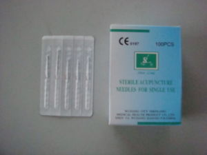 0.25 X 13mm Shenlong Brand Acupuncture Needle without Tube pictures & photos